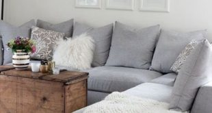 Adorable Grey Sectional Doors Decor 17 besten Ideen über graue Schnittsofa ...