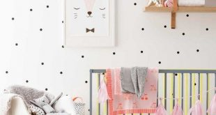 100 Polka Dot Wall Decal, Kinder Wandtattoo, Wandtattoo Kinderzimmer, Kinderzimmer Wandtattoo ...