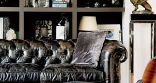 Bequemer eames Loungesessel