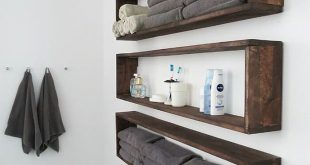25+ Brilliant DIY Badezimmer-Regal-Ideen Sure Savvy-Speicher, um -...