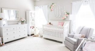 Olivia Nursery Reveal - Morgan Bullard - #Bullard #Morgan #Kindergarten #Olivia #Re ....