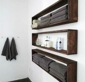 49 Beautiful Diy Bathroom Shelves Ideas - Ideen fürs Badezimmer